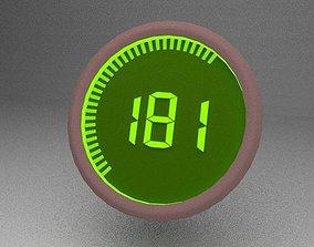 Power gauge 3D model