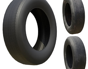 3D model Tire Low Poly more Bonus PBR Option