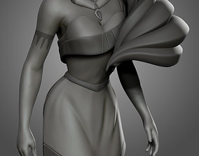 Pocahontas model for 3d print