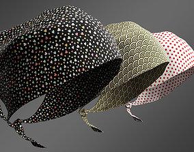 bandana 3 colors 3D
