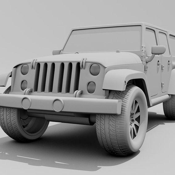 Rubicon 4x4 Jeep