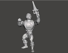 3D print model He Man Power Punch Motu Style Vintage 1