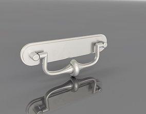 3D print model Classic Metal Handle 64mm