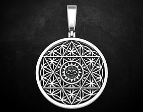 FLOWER OF LIFE PENDANT 83 3D print model