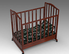 3D model Baby Crib 14 crib