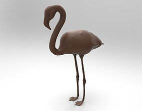 greater flamingo 3D print model