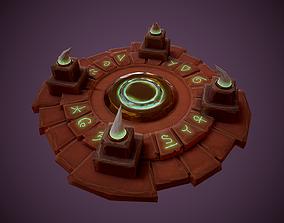 Stylized Altar 3D model