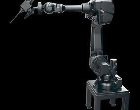 Robot arm manipulator SHOT PEENING for components 3D model