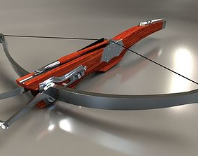 A medieval style crossbow 3D model