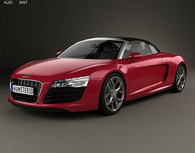 Audi R8 Spyder 2013 3D