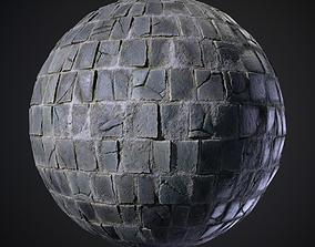 Cobblestone Graph 3D