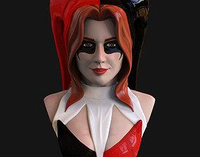 Bust - Harley Quinn FanSuit Version 3D printable model