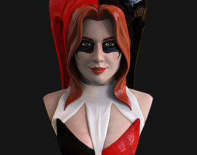 Bust - Harley Quinn FanSuit Version 3D printable model