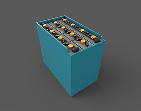 Forklift Battery 3D