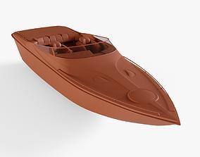 Speed Boat 3D asset