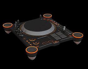 3D asset VR / AR ready DJ mixer collection