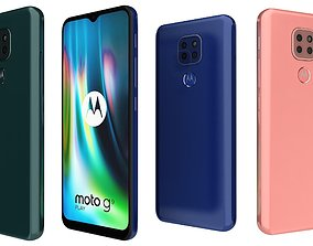 3D Motorola Moto G9 Play All Colors