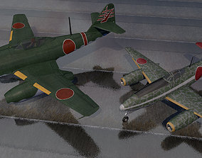 Karyu and Kikka - the Japanese Me-262s 3D fighter