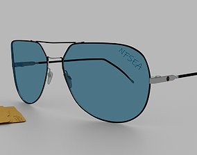 3D sunglasses branding