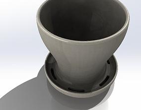 small Flower Pot 3D printable model