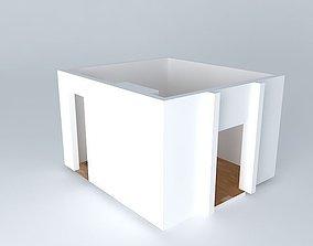 3D master bedroom La Baule tabary
