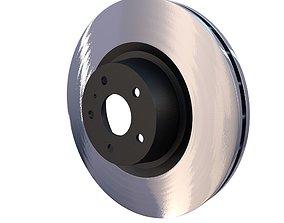 Ventilated Brake Disk 3D model