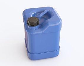 Plastic barrel 02 3D model