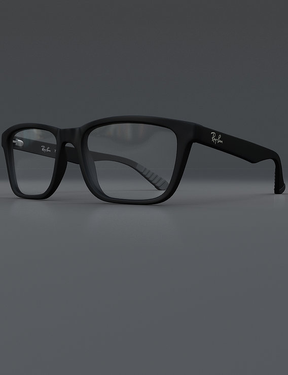Ray-Ban Glasses Render