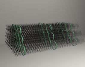 3D model Rolled Chain Link