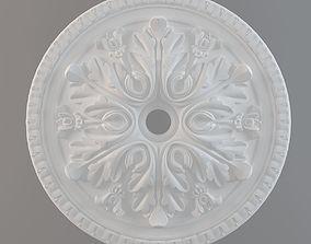 3D print model ceiling plate cornice
