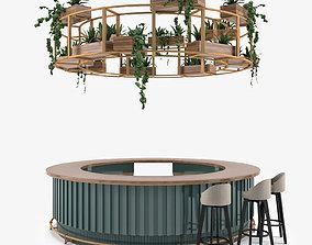Restaurant Bar 15 3D