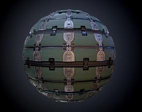Sci-Fi Military Seamless PBR Texture 04 3D model