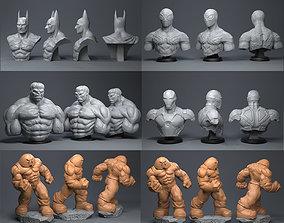 3D model spider Super Hero
