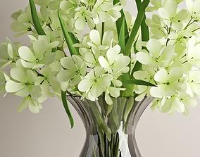 3D model Geranium bouquet