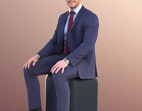 3D model Robb 10950 - Business Man Sitting