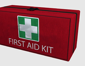 3D asset First Aid Kit - Game Ready