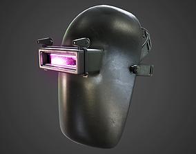 Welding Mask 3D asset