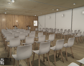 Conference hall - meeting 3D asset