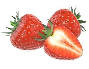 strawberry comp 3D model