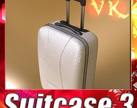 3D Rolling Suitcase 03 High Detail