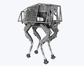 BigDog Robot Boston Dynamics 3D asset