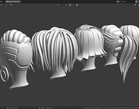 3D asset Base Haircuts 24-29