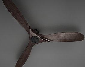 3D HD Fan Propeller Aviator model