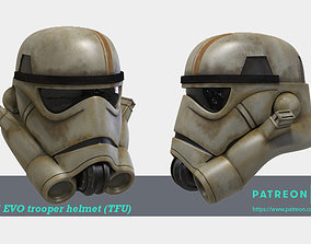 Imperial EVO Trooper Full Size Helmet 3D print ready STL