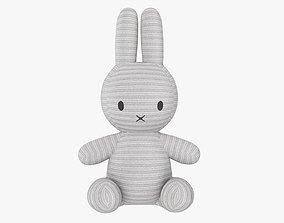 Rabbit soft toy 01 3D model