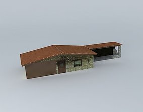 Tses traditional house 3D model
