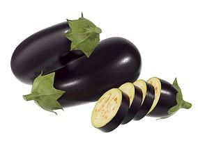 3D PBR Eggplant