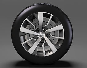 3D Toyota ProAce Verso wheel 2017