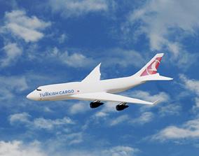 3D Turkish Airlines B747-400F