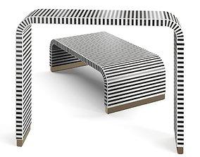 Beacon Sled Coffee Table 3D model